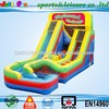 New designed inflatable pool slide with obstacle ,inflatable obstacle slide for sale