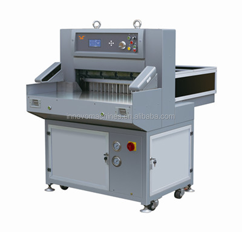 Digital display hydraulic paper cutting machine
