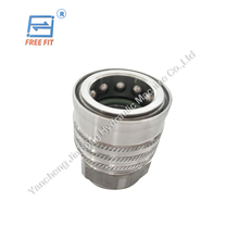 ISO9001 Certified thread locked hydraulic quick couplings interchangealbe with Parker 1141 cheap price