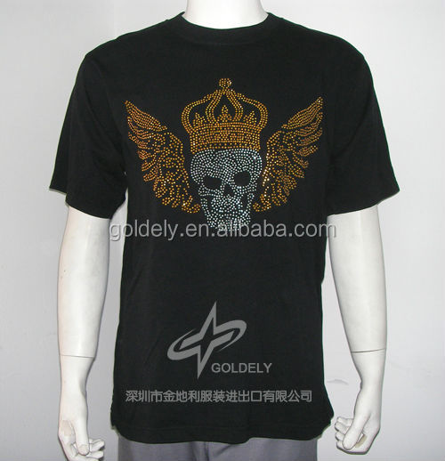 Wholesale Viscose T Shirt Rock Eagle T Shirts