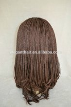 Factory price fashion african braided wig