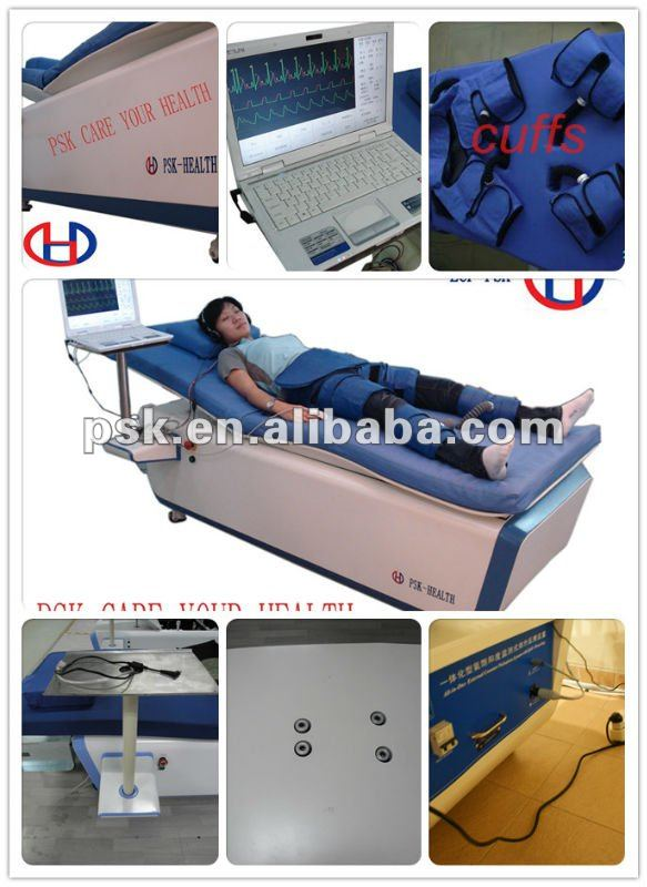 ECP treatment bed