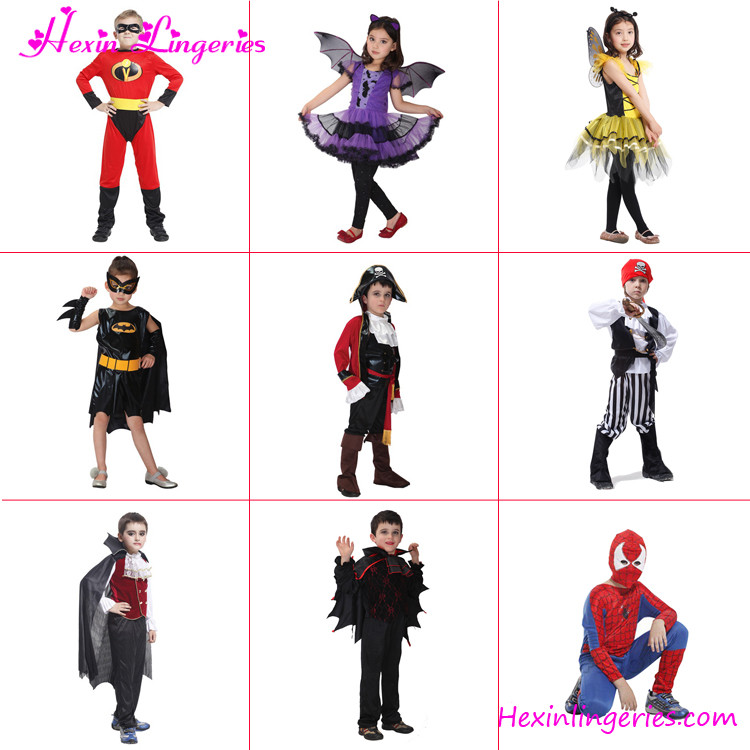 2017 Hexin Hot Sale Animal Movice Halloween Kids Costumes