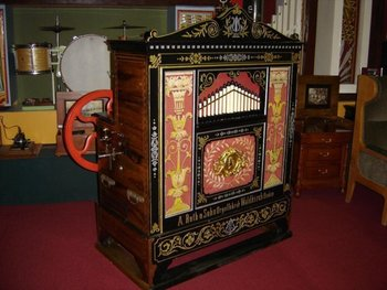 Ruth & Sohn Barrel Organ