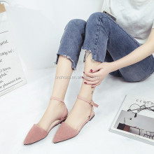 Z56672B Wholesale china shoes women flat fashionable lady casual shoes