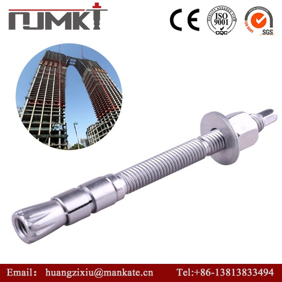 NJMKT 304 316 stainless steel heavy duty anchor bolt m10 m12 m16 m20 Request free samples CE