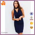 New Ladies Fashion Dress 2017 Design Top Quality Elegant Cowled Bodycon Dresses Summer