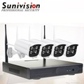 960p 4ch long range wireless outdoor cctv camera surveillance home security system 12v wireless