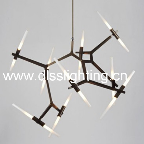 hanging led decorative serial modern home glass lights