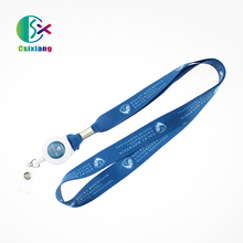 New Style Custom Polyester Neck Yoyo Retractable Lanyard Strap For Promotion Gift