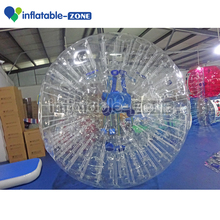 Hot inflatable buddy grass zorb ball craze giant inflatable floating jumbo water ball