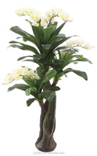 hot selling Artificial orchid tree with 53 leaves 4 flower--model 0017