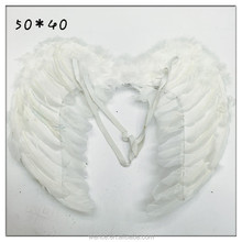 Wholesale Christmas Decorations White Feather Angel Wings