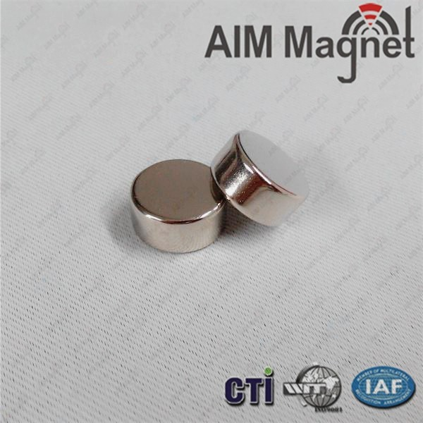N52 Round Strong Disc Neodymium Magnet for Display