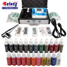 Solong Tattoo Ink/Needless Permanent Beginner Tattoo Kit Complete
