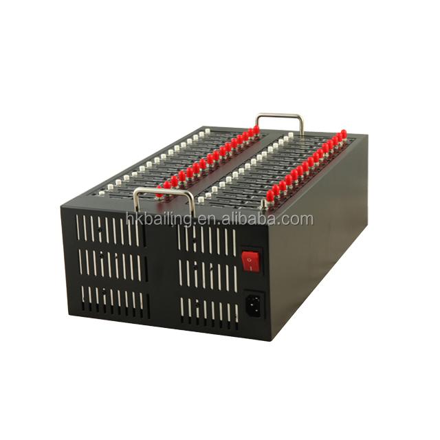 Bailing bulk sms modem pool 32 port gsm modem with Q2403A/Q2406B/Q24Plus module