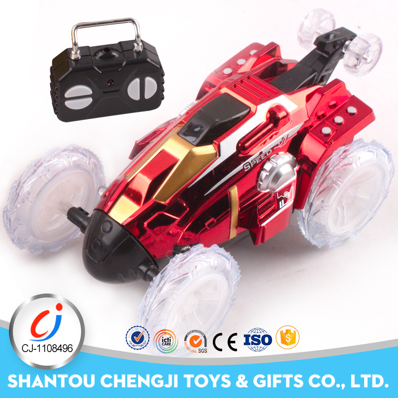 4ch new product rolling electric extreme rc stunt car