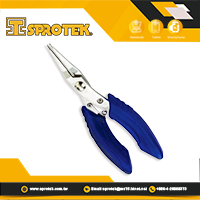 "5"" Chain Nose Pliers with ergonomic hand grip for Jewelers Electricians Craft & Hobby Tools"