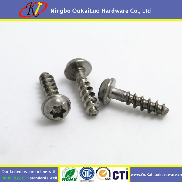 Thread Forming Delta PT Screws For Plastic