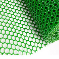 Extruded Plastic Plain Nets/ Flexible PlasticMesh/Plastic Flat Mesh