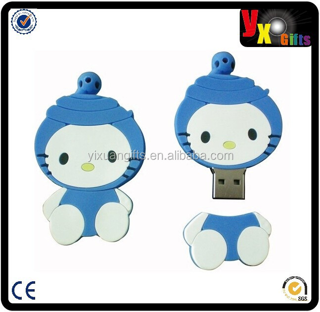 promotion wedding gifts carton bear usb flash drive, bulk cheap OEM name PVC bear usb flash drive, 2tb usb flash memory stick