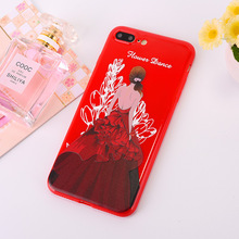 Girl Figure Mobile Phone Case For Apple 6s Plus