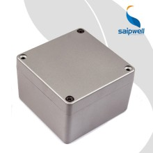SAIP/SAIPWELL 120*120*82 Electronic Use Project Enclosure IP66 Protection Level Diecast Aluminum Box