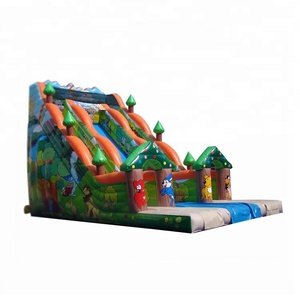 NEVERLAND TOYS Giant jumping combo bouncer inflatable slide