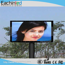 P12.8 full color programmable led display sign outdoor