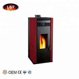 Fashion Design Security Beautiful Steel Plate Paint CE Certificates Wood Pellet Stoves