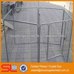 Stainless steel foldable dog cage,strong stainless steel dog cage (Direct and Professional )