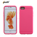 High Quality new pinhole design TPU Mobile Phone Case for iPhone 7