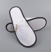 hotel disposable slipper for luxury hotel use and travel use 5 star hotel products