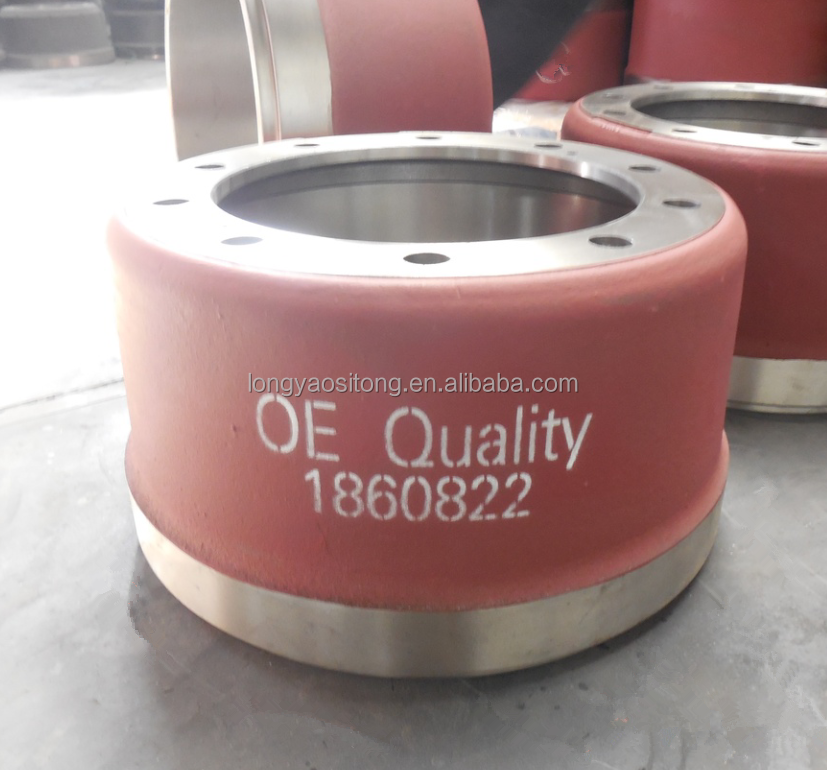 Good Quality Low Price Truck Brake System Mack Truck Brake Drum 1860822