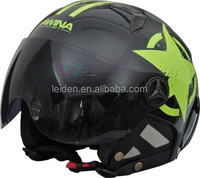 half face helm extream SPORTS helmets SKATING cascos customized motorbike helmet with visor TN8689B