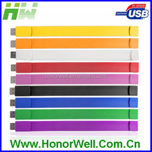 OEM Promotion Wristband flash memory stick bracelet 4gb usb 3.0 flash drive