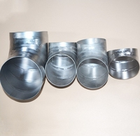 Industrial pure Gr1 and Gr2 titanium Pipe fitting