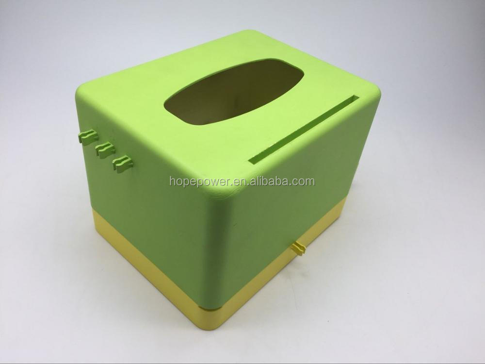 Factory newest design napkin box power bank 10000mAh for tissue box restaurant napkin holder