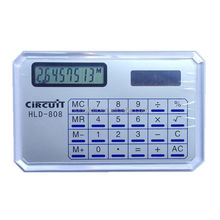 Name card calculator, super thin calculator, solar power/ HLD-808