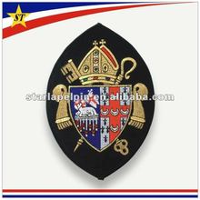novelty handmade cheap custom clothing iron on embroidery applique