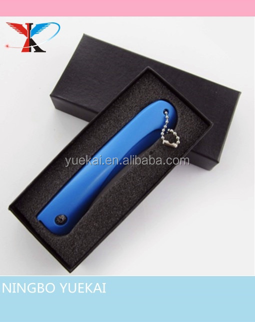new design ceramic folding knife with gift box packing