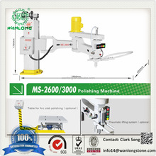 Manual Stone Polishing Machine for granite marble sandstone polishing, slab tile polishing machine for sale MS-2600