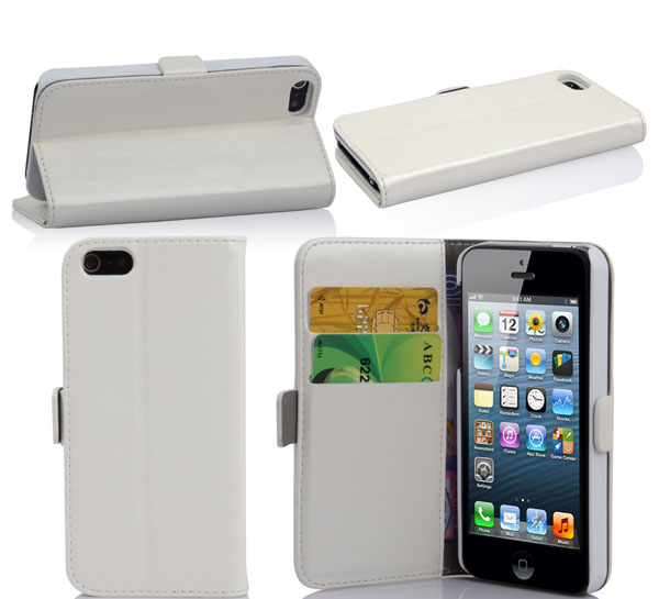 hot sale wallet case for iphone 5s prevail in Europe