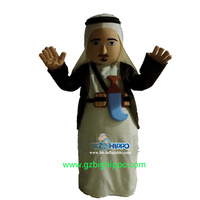 funny arab man mascot costumes for adult to wear