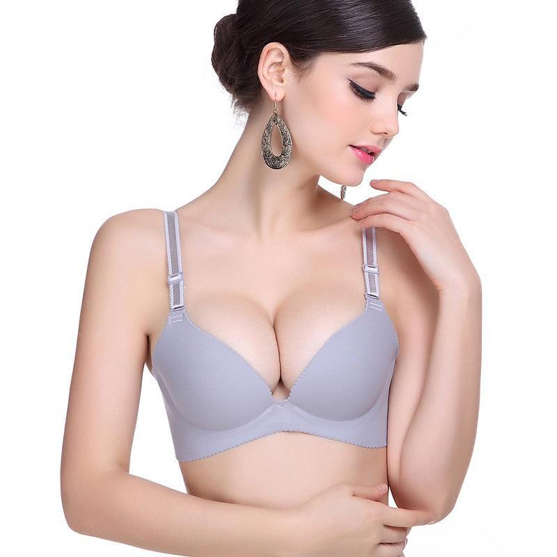 550febcdd7 Buy New 2015 Vs Brand Women Super Push Up Bra Sexy Seamless Underwear  Brassiere Plus Size C Cup Multicolor Female Bras Free Shipping in Cheap  Price on ...