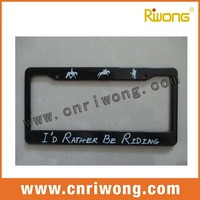 Plastic Frame For Auto License Tag
