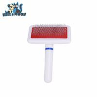 Practical Plastic Handle Pet Dog Brush Grooming Comb