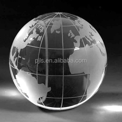 Crystal Clear Decorative Glass Globe Ball