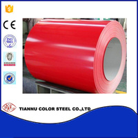 Top2/Back1 Thickness 0.23-0.8mm Color Coated coil for roofing and wall materials/Prepainted galvanized Steel Coil