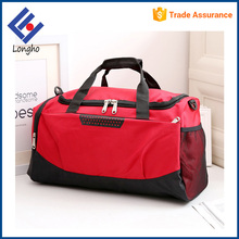 Online shopping hidden front pocket waterproof hand duffle bag heavy duty large travelling bags with shoe pocket